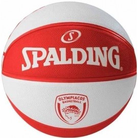Μπάλα μπάσκετ Spalding Olympiakos BC Euroleague outdoor (83 032Z1)