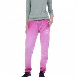 Body Action Women Relaxed Joggers (021837-D Fuchsia)