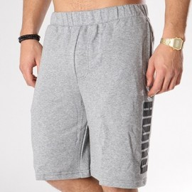 PUMA REBEL SWEAT SHORTS 850088 03 ΓΚΡΙ