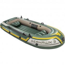 Φουσκωτή βάρκα INTEX Seahawk 3 SET (με κουπιά & τρόμπα) (68380)