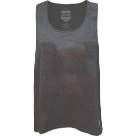 GSA GLORY LOOSE TANK TOP (3728016-06)charcoal