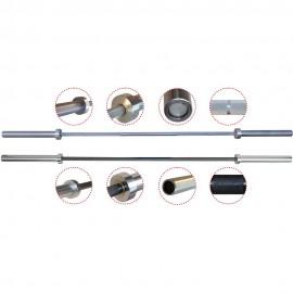 Μπάρα χωρίς κολάρο Φ50mmx218cm, ολυμπιακού τύπου (80035)