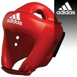 Κόκκινη προστατευτική κάσκα αγώνων Adidas ADISTAR Headguard Professional (ADIBH04)