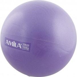 Μπάλα Γυμναστικής Pilates, Φ25cm (δεν αναπηδά), 150gr, amila (48428)