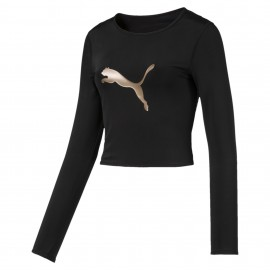 Luxe Long Sleeve Women's Crop Top 517080-01