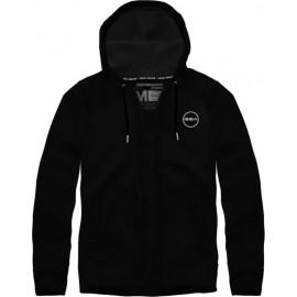 GSA SUPERCOTTON ZIPPER HOODIE 17-17026-01 JET BLACK