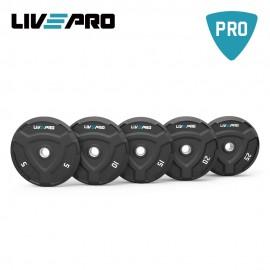 Δίσκος Bumper Plate 25 κιλών Β-8022-25 από την LIVE PRO