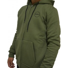 GSA SUPERCOTTON ZIPPER HOODIE 17-17026-07 CHAKI-ARMY