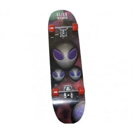 Skateboard Τροχοσανίδα στενή ΑΘΛΟΠΑΙΔΙΑ , απλή Νο1 3999 AL