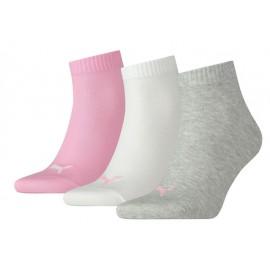Σετ 3 ζευγάρια κοντές κάλτσες γυναικείες Puma Quarter 3 Pairs 271080001-395