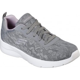SKECHERS ΠΑΠΟΥΤΣΙ ΓΥΝΑΙΚΕΙΟ -Dynamight 2.0 - Homespun (12963-GYLV) GRAY-PURPLE- SKECHERS