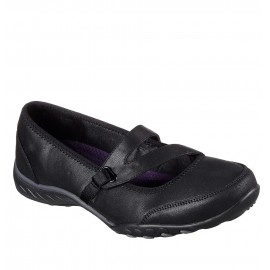 ΠΑΠΟΥΤΣΙ ΓΥΝΑΙΚΕΙΟ SKECHERS Relaxed Fit Breathe Easy - Calmly (23209-BLK) BLACK