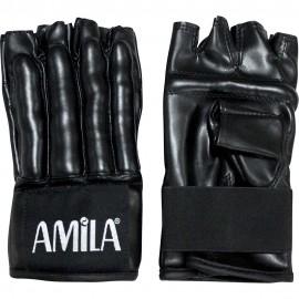 Γάντια προπόνησης για σάκο amila δερμάτινα