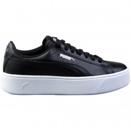 Puma Vikky Stacked 369143-01 ΜΑΥΡΟ