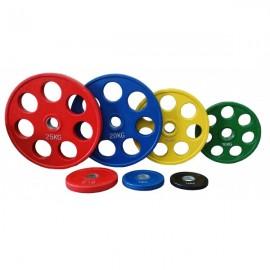 Ολυμπιακοί Δίσκοι με λάστιχο 25kg Φ50 Pegasus Β-1127-25