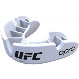 OPRO UFC BRONZE SERIES ΠΡΟΣΤΑΤΕΥΤΙΚΗ ΜΑΣΕΛΑ WHITE OP105