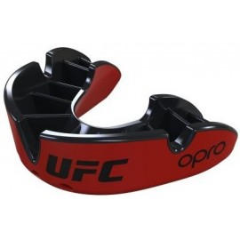 OPRO UFC SILVER ΠΡΟΣΤΑΤΕΥΤΙΚΗ ΜΑΣΕΛΑ RED OP101