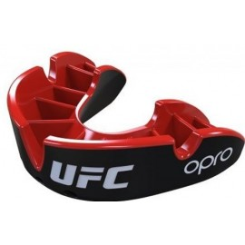 OPRO UFC SILVER ΠΡΟΣΤΑΤΕΥΤΙΚΗ ΜΑΣΕΛΑ BLACK OP101