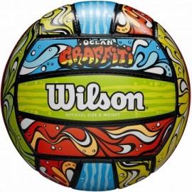 Μπάλα Μπιτς βόλεϊ Wilson ocean GRAFFITI wth40119xb blue
