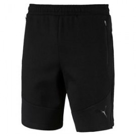 "Puma Mens Evostripe Move 8"" Breathable Training Shorts 854154 01 black"