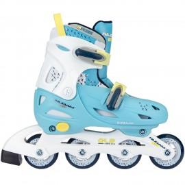 Inline Quads Roller Skate ρυθμιζόμενα Nijdam 52SH-LWG