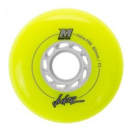 Ρόδες InLine FreeStyle Matter Juice FSK, 80χιλ./F1 Neon Yellow