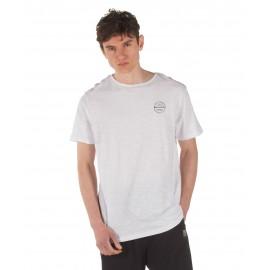 Ανδρικό αθλητικό μπλουζάκι BODY ACTION 053924-01-02 Λευκό