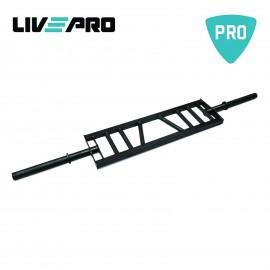 Μπάρα Πολλαπλών Λαβών (Swiss Bar) βάρους 9kg live pro Β-8057