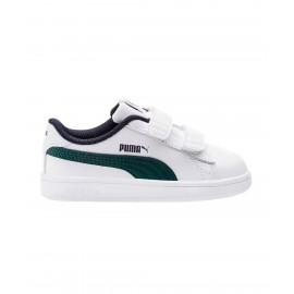Παιδικό αθλητικό παπούτσι Puma Smash V2 L V 365173 10 white
