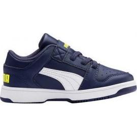 Αθλητικό παπούτσι για αγόρι PUMA REBOUND LAYUP LO SLVPS 370492-04 NAVY