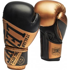 Γάντια προπόνησης Leone Next Boxing Gloves GN311 Black/Gold