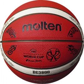 Μπάλα μπάσκετ molten indoor FIBA WORLD CUP 2019 SIZE 7 B7G3800-M9C