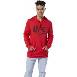 Ανδρικό φούτερ Reebok UFC Fan Gear DU4578 Primal Red