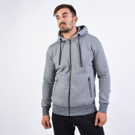 ZAKETA BODY ACTION Men Hooded Sweat Jacket 073928-03A