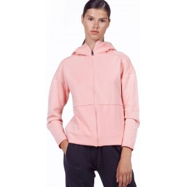 ΑΘΛΗΤΙΚΗ ΓΥΝΑΙΚΕΙΑ ΖΑΚΕΤΑ BODYACTION WOMEN TRAINING TECH ZIP HOODIE 071926-08C CORAL