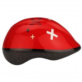 Προστατευτικό κράνος παιδικό για Skate και Roller NIJDAM 52-57 (Κόκκινο) 75CA-ROW