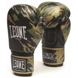 Γάντια προπόνησης LEONE NEO CAMO BOXING GLOVES Green GN305 GR