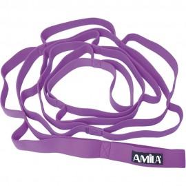 Λάστιχο Γυμναστικής Ελαστικό Υφασμάτινο Amila Fabric Band 88264