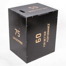 3 σε 1 Πλειομετρικό Κουτί Ξύλινο (Plyo Box) Β-8156