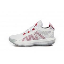 Mπασκετικά παπούτσια adidas Performance DAME 6 J EF9856 Λευκό