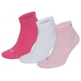 Κάλτσες PUMA ροζ/λευκές/κοραλί Τριάδα (251015 422)