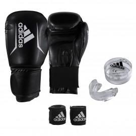 Σετ Πυγμαχίας (Γάντια, Μασέλα, Μπαντάζ) ADIDAS ''BOX KIT'' ADIBPKIT01