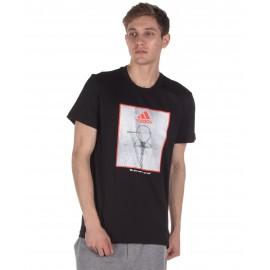 Αντρικό t-shirt Adidas Game On Lock FM4976 Black