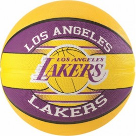 Rubber Basketball - LA LAKERS
