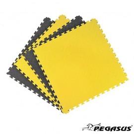 Δάπεδο προστασίας Puzzle EVA (Μαύρο/Κίτρινο) 2.0cm Β-4100-20