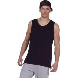 Ανδρικό αθλητικό αμάνικο Body Action 043001-01 Μαύρο