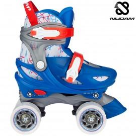 "Nijdam Roller Skates Ρυθμιζόμενα ""Geo Metricker"" N21AA01"