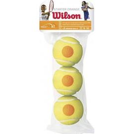 Wilson Starter Game Orange 3τμχ