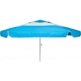 Ομπρέλα παραλίας Escape 2m με αεραγωγό γαλάζια/λευκή (12089)