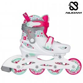 "Nijdam Inline Skates Ρυθμιζόμενα ""Sk8 Star"" N20AA02"